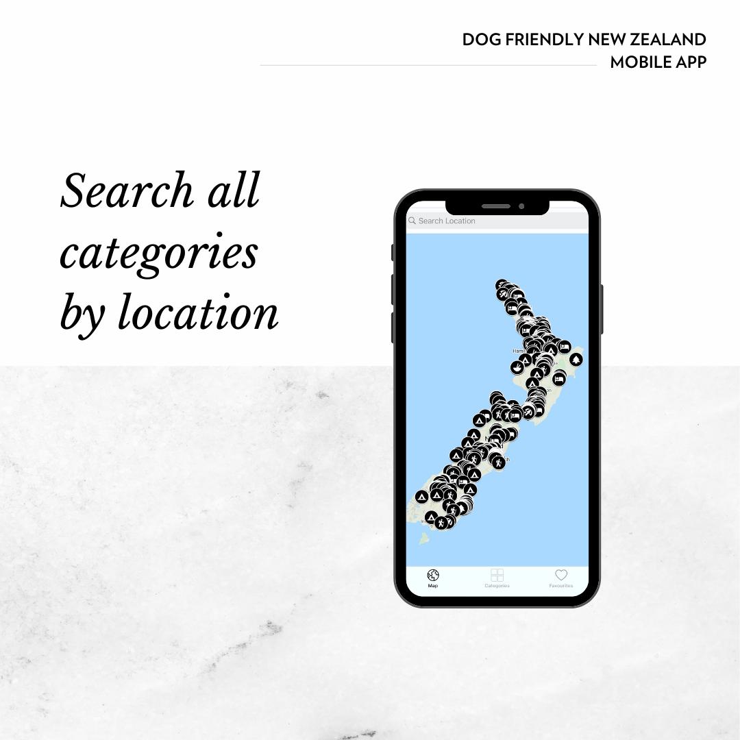 dog friendly new zealand map